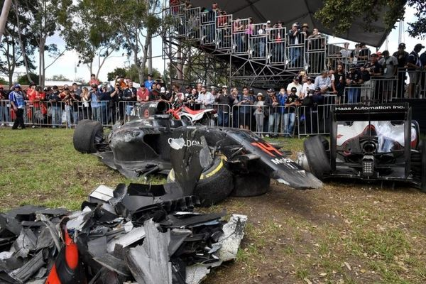 Formula 1: Σοκαριστικό ατύχημα για Αλόνσο! (photos+video)