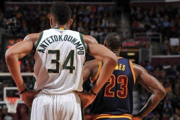 NBA: «Βασιλιάς» LeBron, «πρίγκιπας» ο Γιάννης (videos)