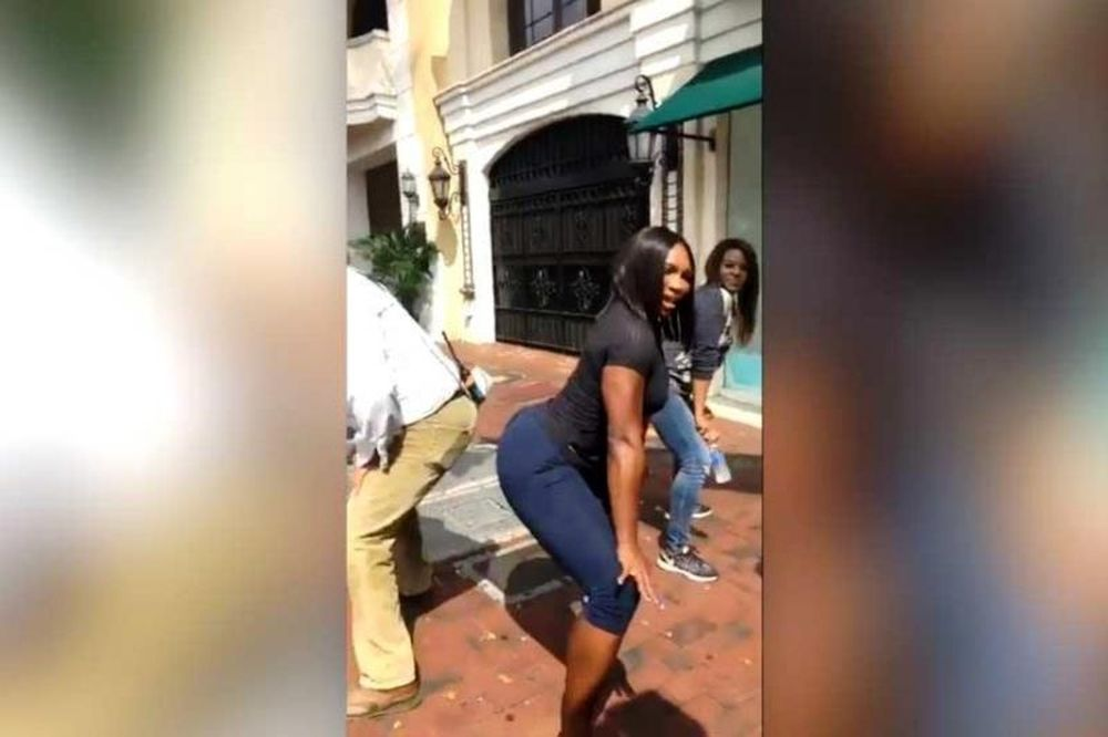Μαθήματα twerking από τη Σερένα Γουίλιαμς (video)