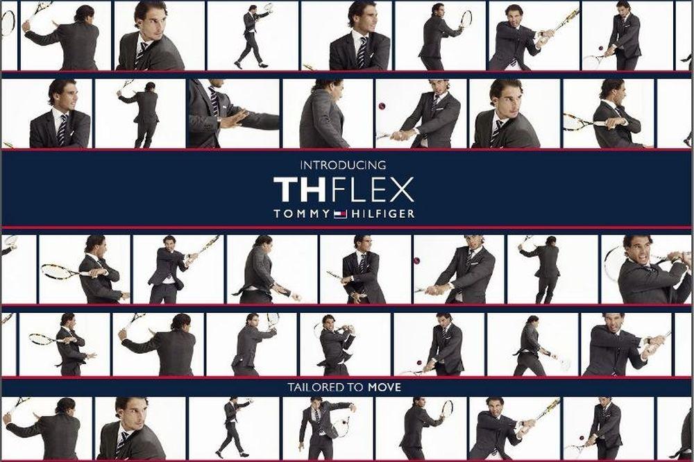 Ο Tommy Hilfiger ανακοινώνει την συλλογή Thflex Rafael Nadal Edition Tailored