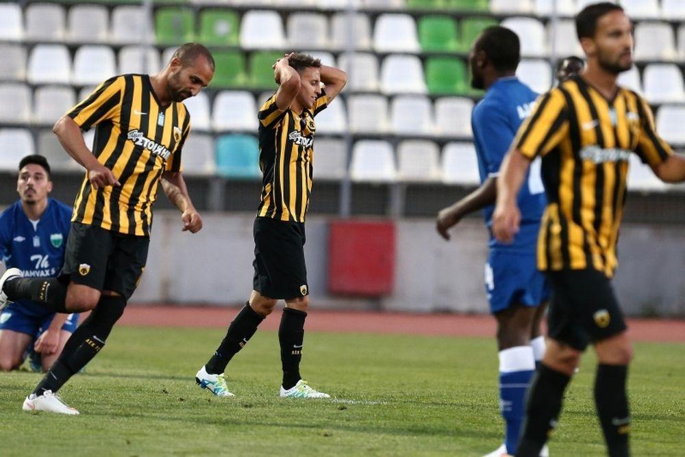 Λεβαδειακός-ΑΕΚ 3-0: Για... σουβλάκια πήγε στη Λιβαδειά!
