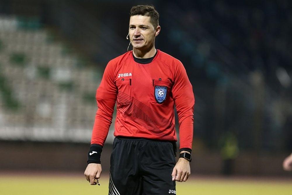 Ο Αρετόπουλος στον ημιτελικό ΑΕΚ-Ατρόμητος