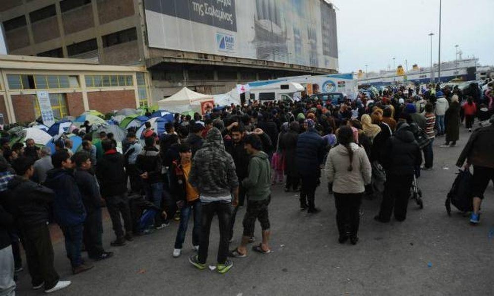 Επεισόδια μεταξύ μεταναστών στον Πειραιά - Ένας τραυματίας
