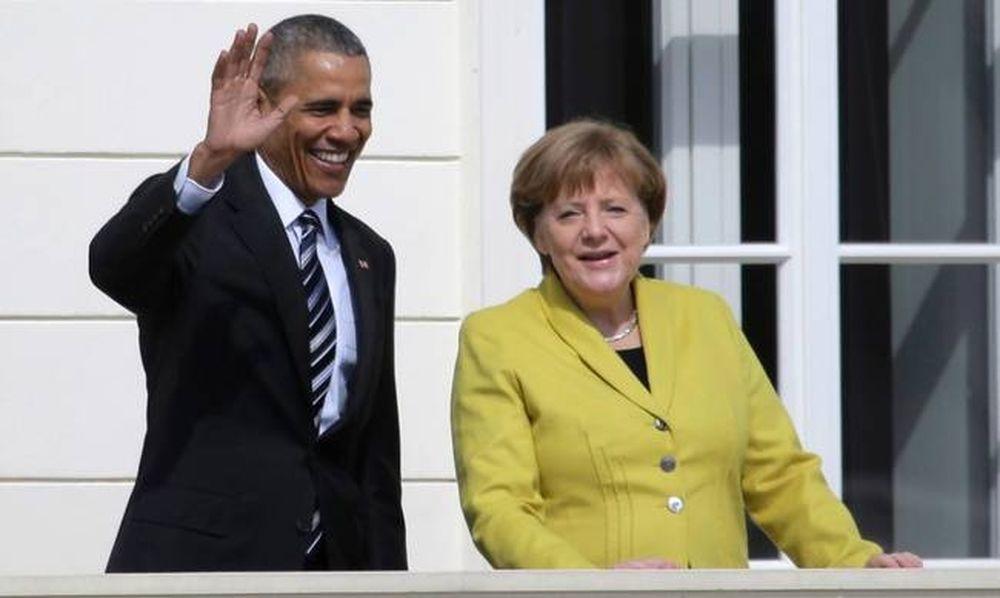 Ομπάμα σε Μέρκελ: Η Ελλάδα χρειάζεται ανάπτυξη και ελάφρυνση χρέους
