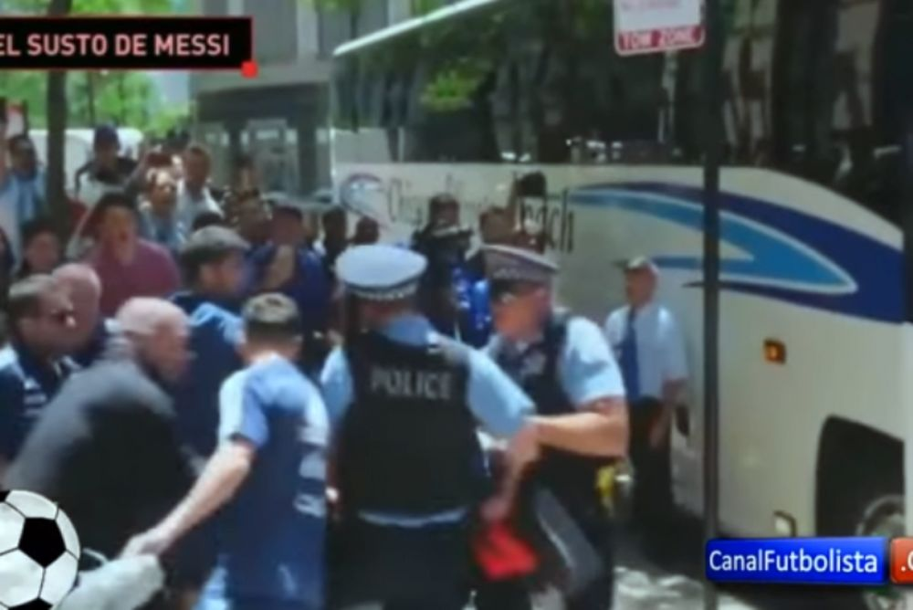 Θαυμάστρια του Μέσι προκάλεσε πανικό στον Αργεντινό και στις Aρχές! (video)
