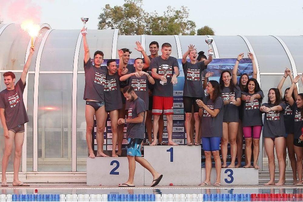 Κολύμβηση: Νέο πρωτάθλημα για Ολυμπιακό, «αντίο» από Γιαννιώτη και Λυμπερτά