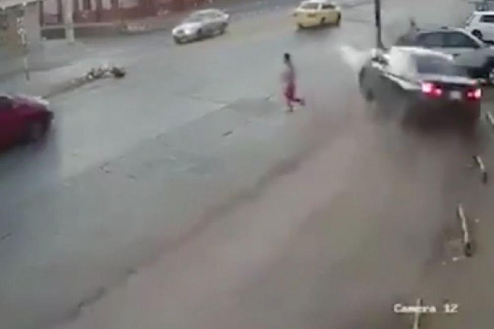 Κι όμως... επέζησε από αυτό το απίστευτο τροχαίο (video)