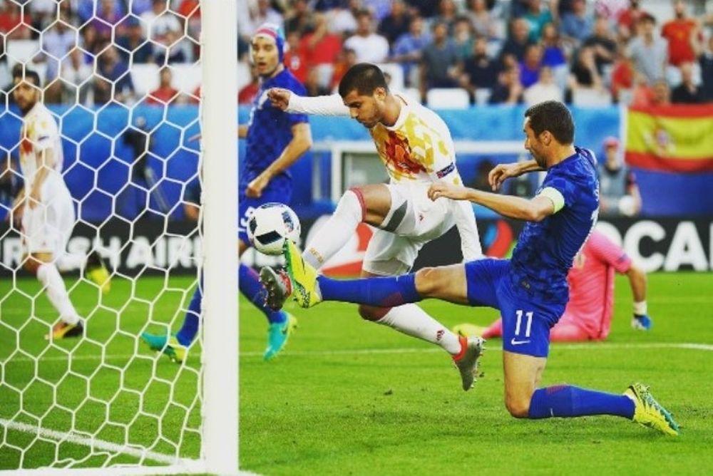 Euro 2016: Το γκολ του Μοράτα κόντρα στην Κροατία (videο)