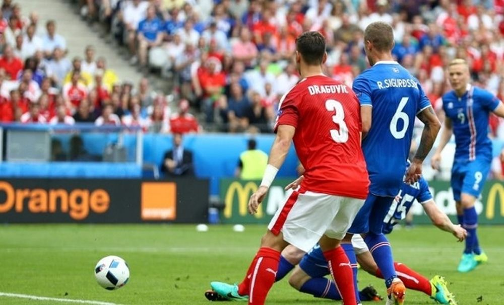 Euro 2016: Το γκολ της Ισλανδίας (video)