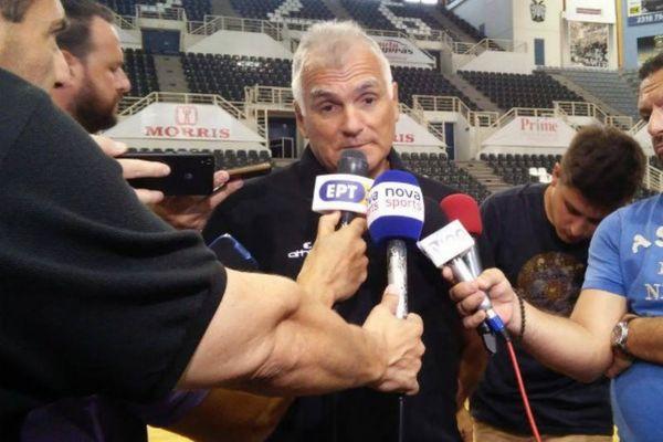 Μαρκόπουλος: «Να αγκαλιάσει ο κόσμος την ομάδα!»