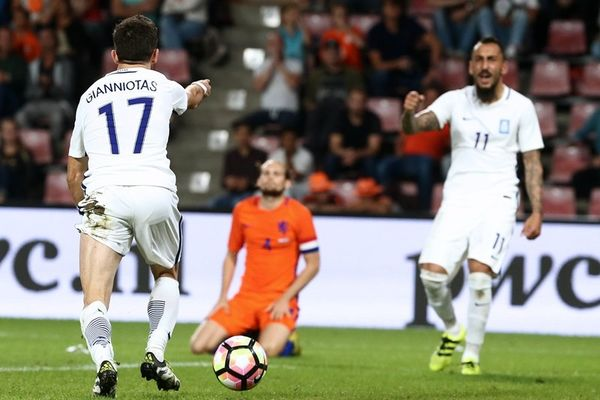 Ολλανδία - Ελλάδα: Το γκολ του Γιαννιώτα (video)