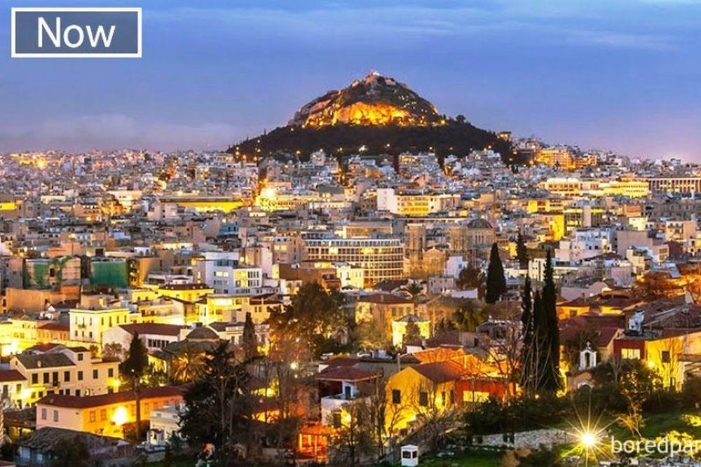 ΔΕΙΤΕ ΤΟ! 30 διάσημες πόλεις: Πώς ήταν και πώς είναι! (photos)