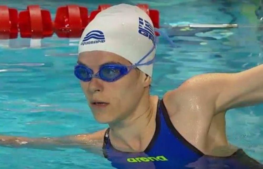 Παραολυμπιακοί Αγώνες: Ευρωπαϊκό ρεκόρ στο 50άρι, πανελλήνιο στο 100άρι ελεύθερο η Σταματοπούλου