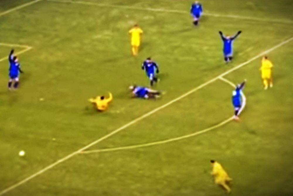 Όταν το ποδόσφαιρο γίνεται… σκληρό! (video)