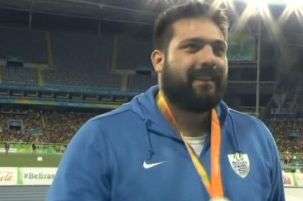 Παραολυμπιακοί Αγώνες: Ασημένιος... ο Σενικίδης