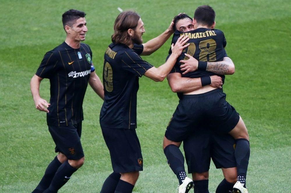 AEK-Ξάνθη 4-1: Φουριόζα στο πάρτι του Αλμέιδα!