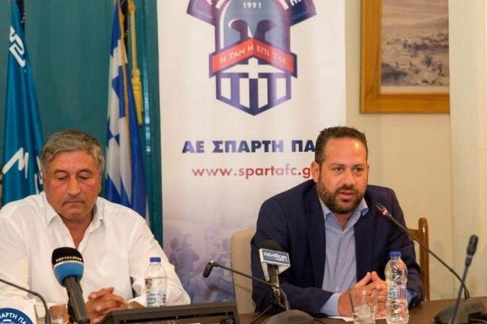 Κατσογιάννης: «Νοικοκυρεμένοι και οργανωμένοι ώστε να διασφαλίσουμε το μέλλον της ΑΕ Σπάρτη» (photos)