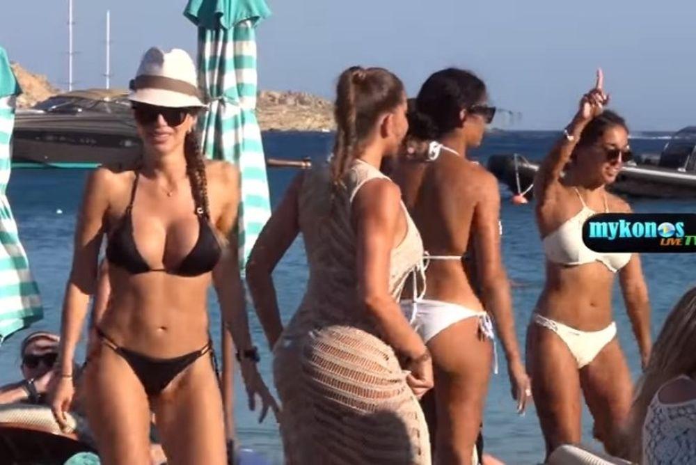 Τρελό πάρτι με καυτές Βραζιλιάνες στην Μύκονο! (video)