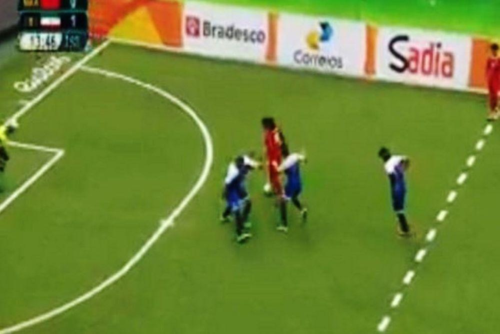Απίστευτο γκολ από τυφλό ποδοσφαιριστή στους Παραολυμπιακούς (video)