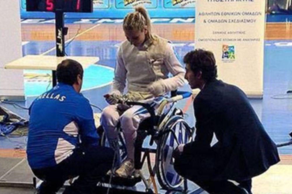 Παραολυμπιακοί Αγώνες: Εκτός προημιτελικών η Λουφάκη στο ξίφος μονομαχίας