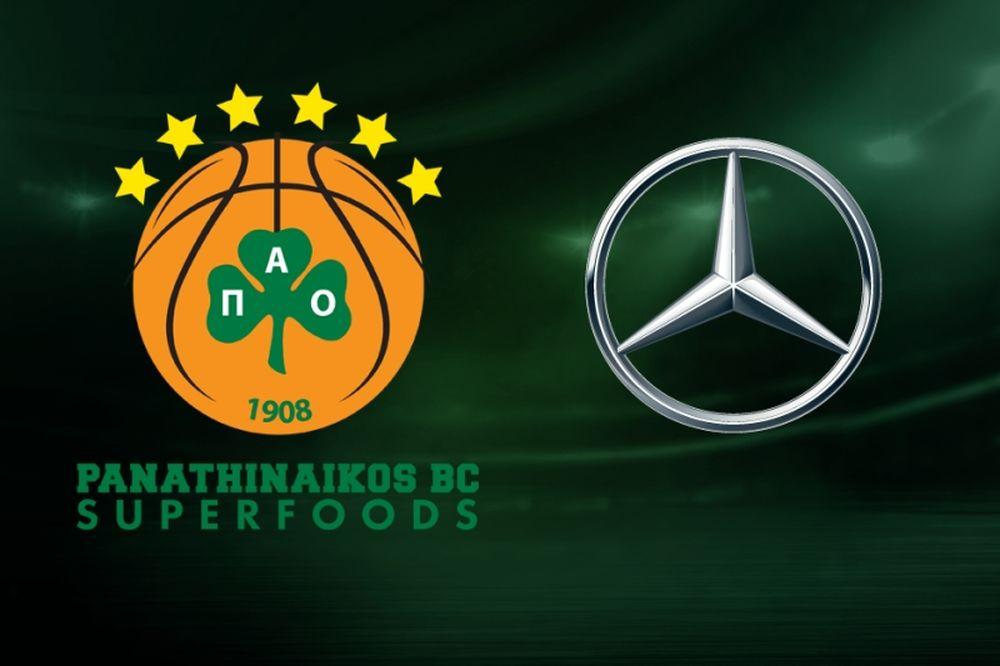 Νέα  συνεργασία της Mercedes-Benz Ελλάς με την ΚΑΕ Παναθηναϊκός Superfoods