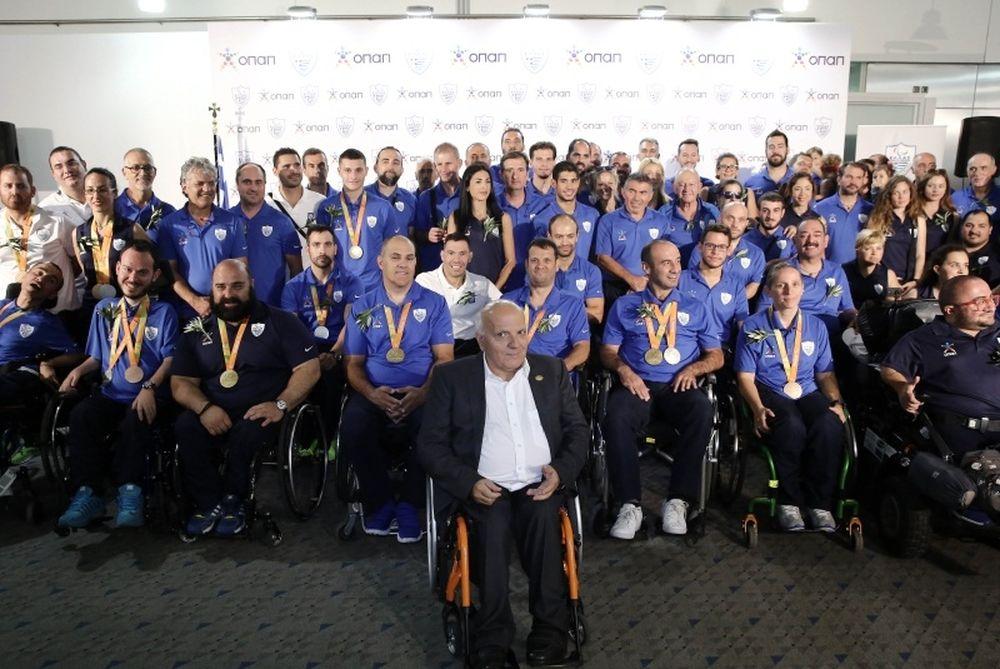 Παραολυμπιακοί Αγώνες: Λαμπρή υποδοχή στους θριαμβευτές του Ρίο! (photos)