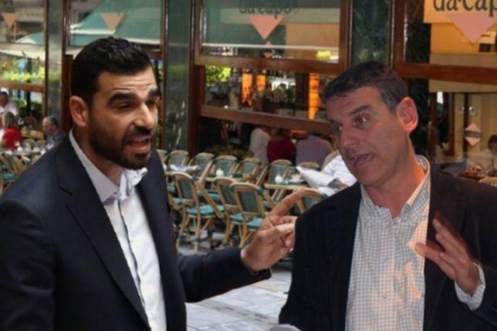 Χαμός στο Κολωνάκι: «Πλακώθηκαν» Γεωργούντζος-Κωνσταντινέας!