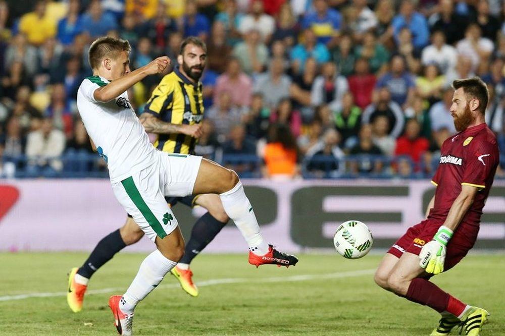 Παναιτωλικός - Παναθηναϊκός 0-0: Στοπ από Κυριακίδη!