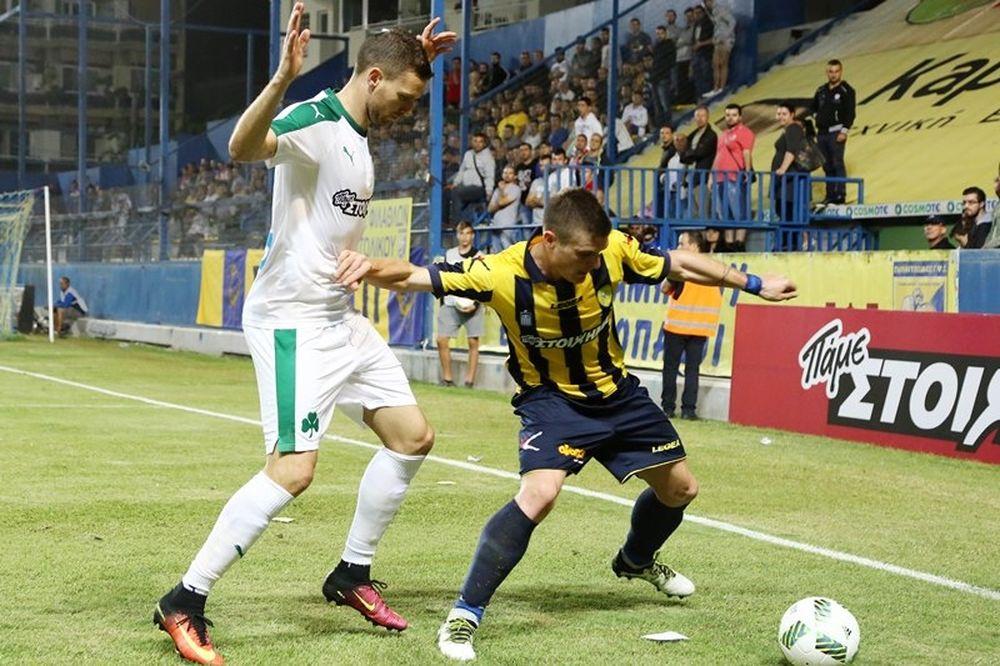 Παναιτωλικός - Παναθηναϊκός 0-0: Τα επίσημα highlights (video)