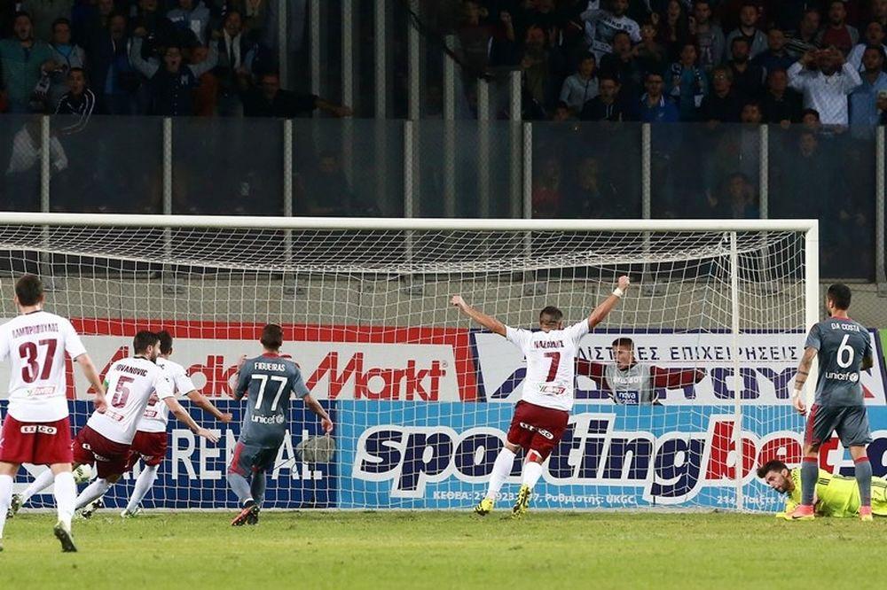 Λάρισα - Ολυμπιακός 1-0: Σφαλιάρα… από το «αλογάκι»!