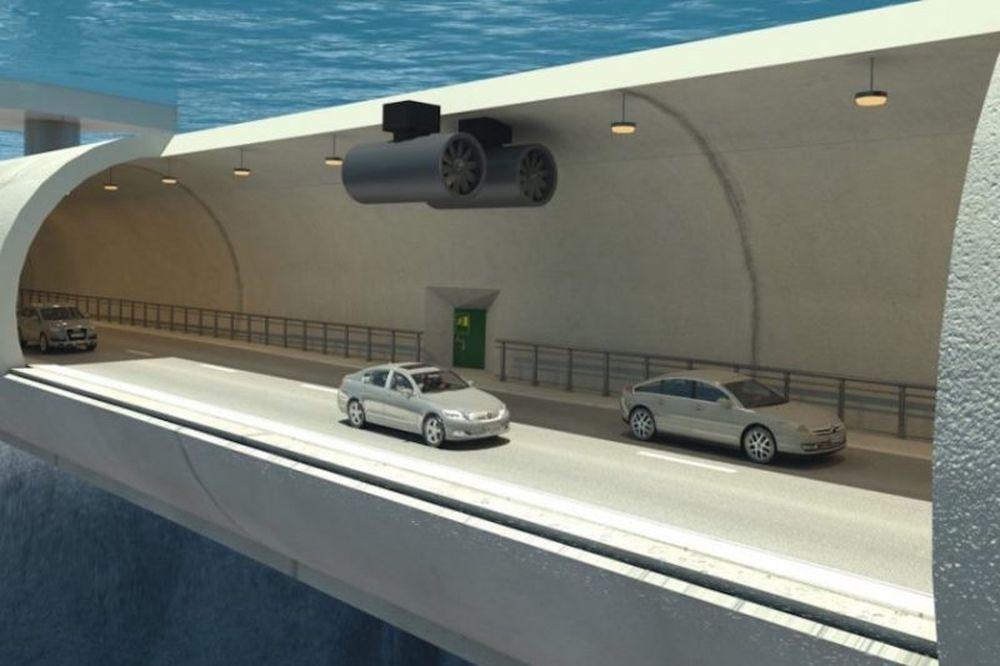 Το νέο υποβρύχιο τούνελ στη Νορβηγία θα σε καθηλώσει! (photos+video)