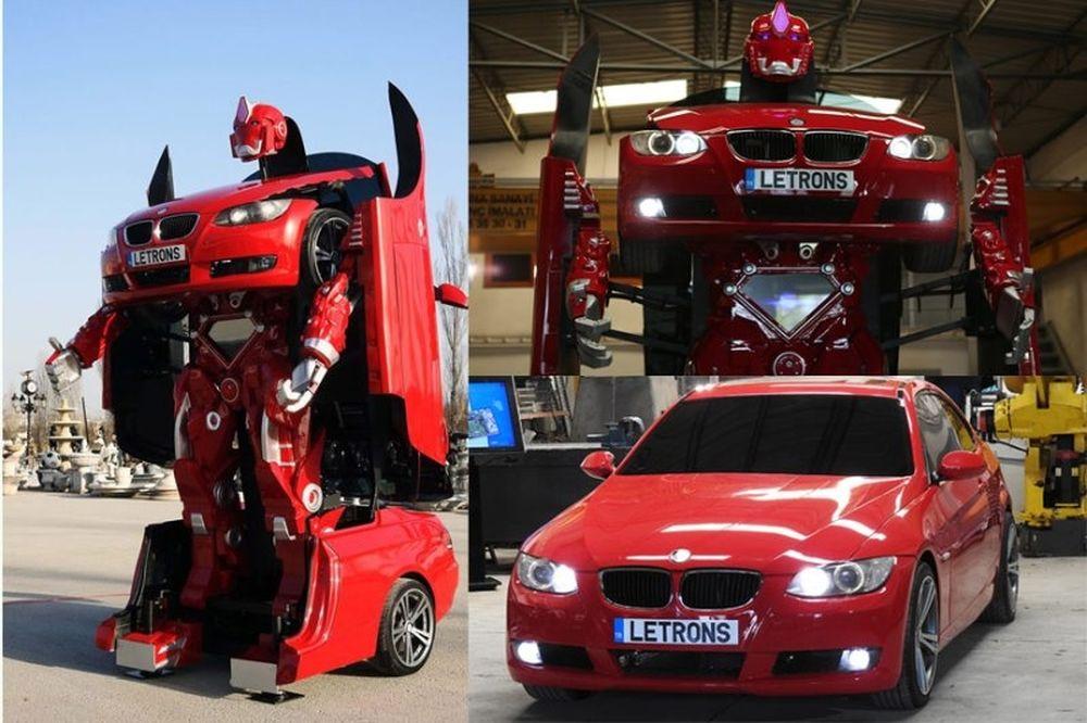 Απίστευτο! Τούρκοι μηχανικοί μετέτρεψαν μια BMW σε Transfromer (video)