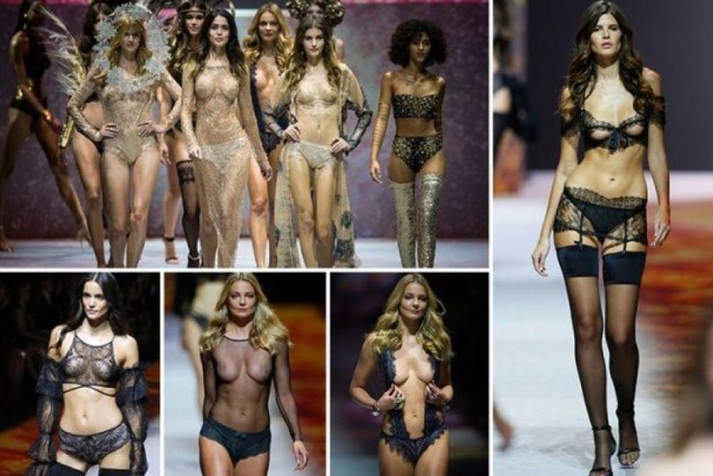 Επίδειξη σέξι εσώρουχων στο Παρίσι - Σε προκαλώ να τη δεις! (photos)