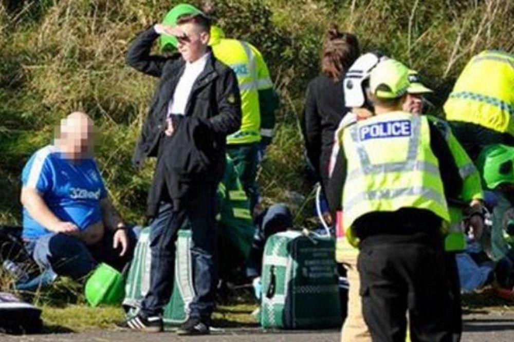 ΣΟΚ! Ένας νεκρός και τρεις σοβαρά τραυματίες στο τροχαίο των οπαδών της Ρέιντζερς (photos)