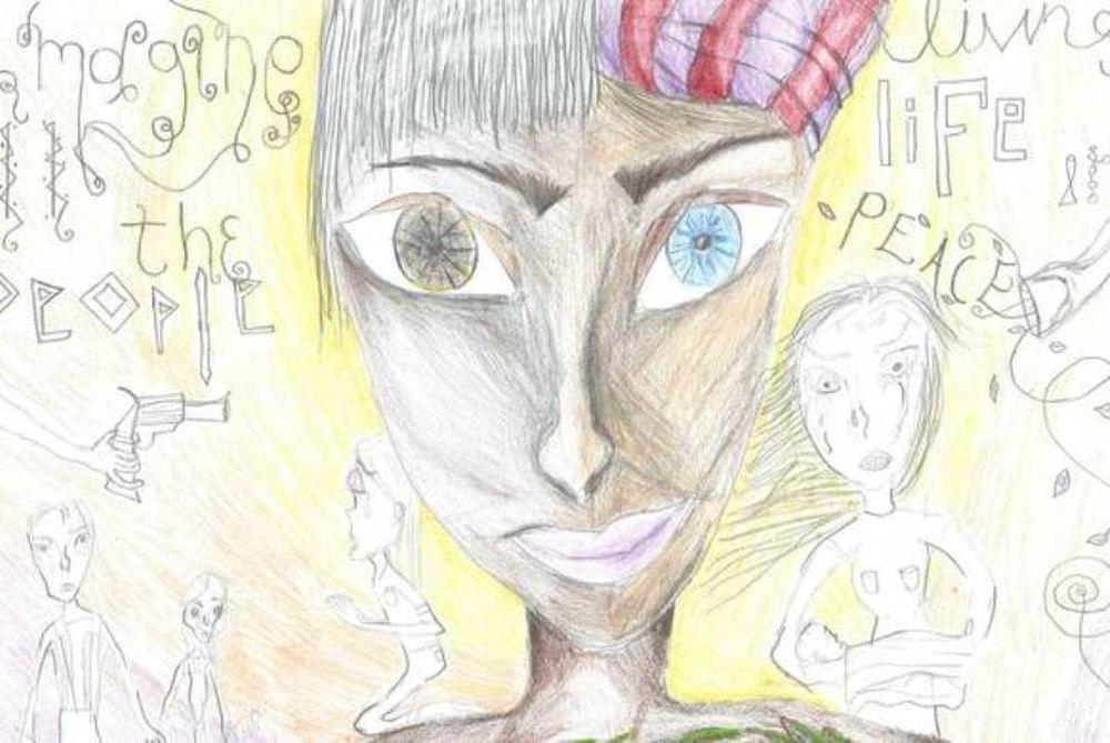 Γιαννιτσά: Πρώτο βραβείο σε παγκόσμιο διαγωνισμό για τη ζωγραφιά της 14χρονης Ευγενίας
