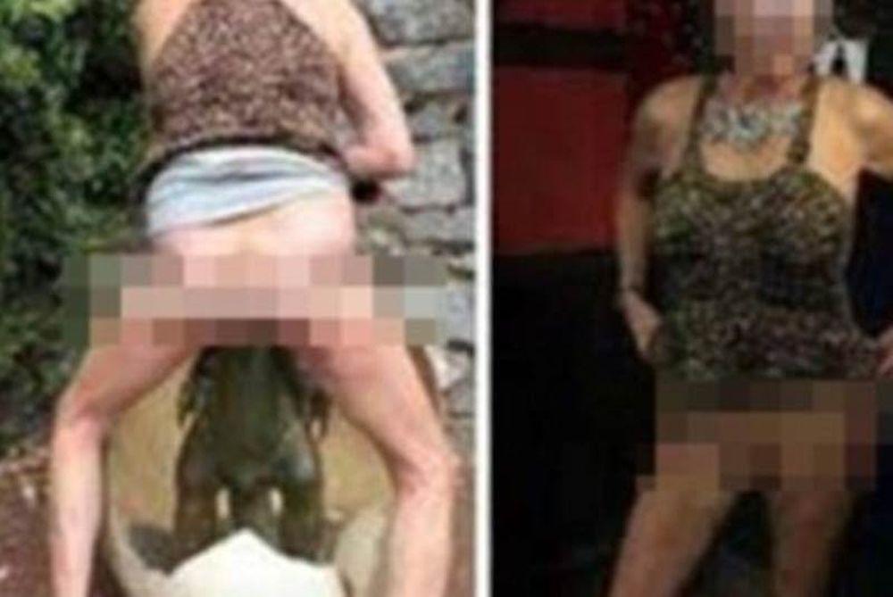 Εικόνες σοκ: Γυναίκα τα έβγαλε όλα και βίασε... δεινοσαυράκι! (photos)