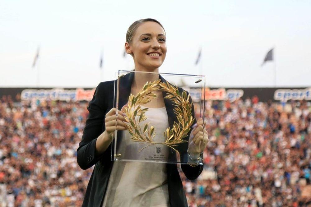 Κορακάκη: «Φανταστικός τρόπος να κλείνεις τη χρονιά με χρυσό μετάλλιο»