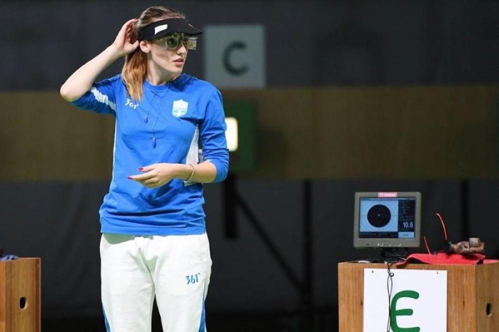 Παγκόσμιο ρεκόρ για την Κορακάκη στα 10 μέτρα αεροβόλου πιστολιού!