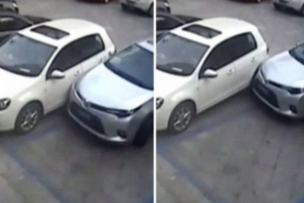 Προσοχή μην παρκάρετε κοντά του, θα σας τρακάρει! (video)