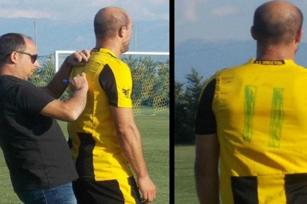 Συνέβη σε αγώνα Γ' Εθνικής: Επιστρατεύτηκε… μαρκαδόρος για τον αριθμό στην πλάτη! (photos)