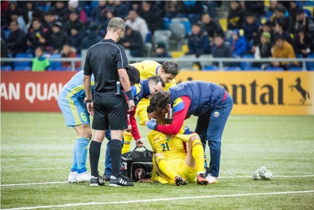 Άγνωστοι... ξάφρισαν παίκτες της εθνικής Ρουμανίας