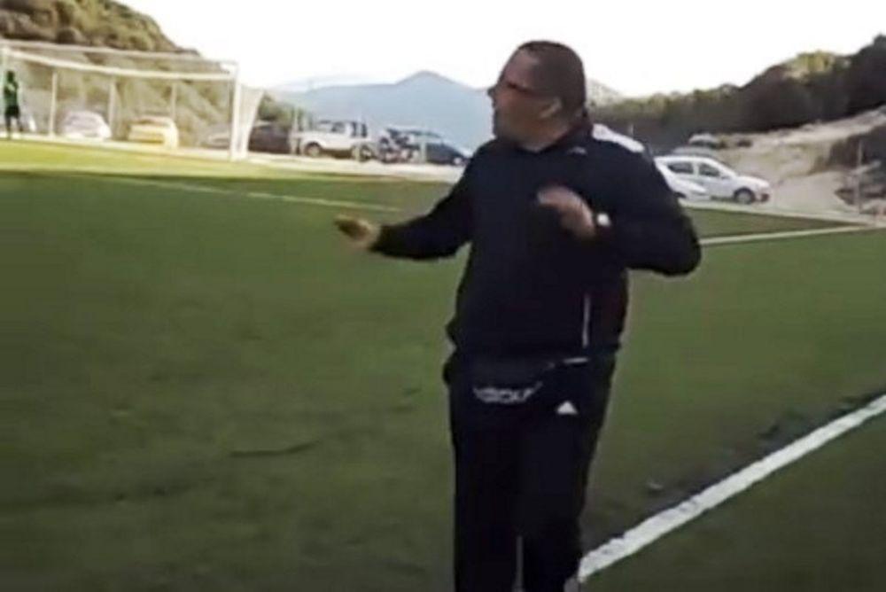 Τρελό γέλιο! Ο Έλληνας προπονητής που έχει γίνει viral για τα… γκάζια σε αντιπάλους! (video)