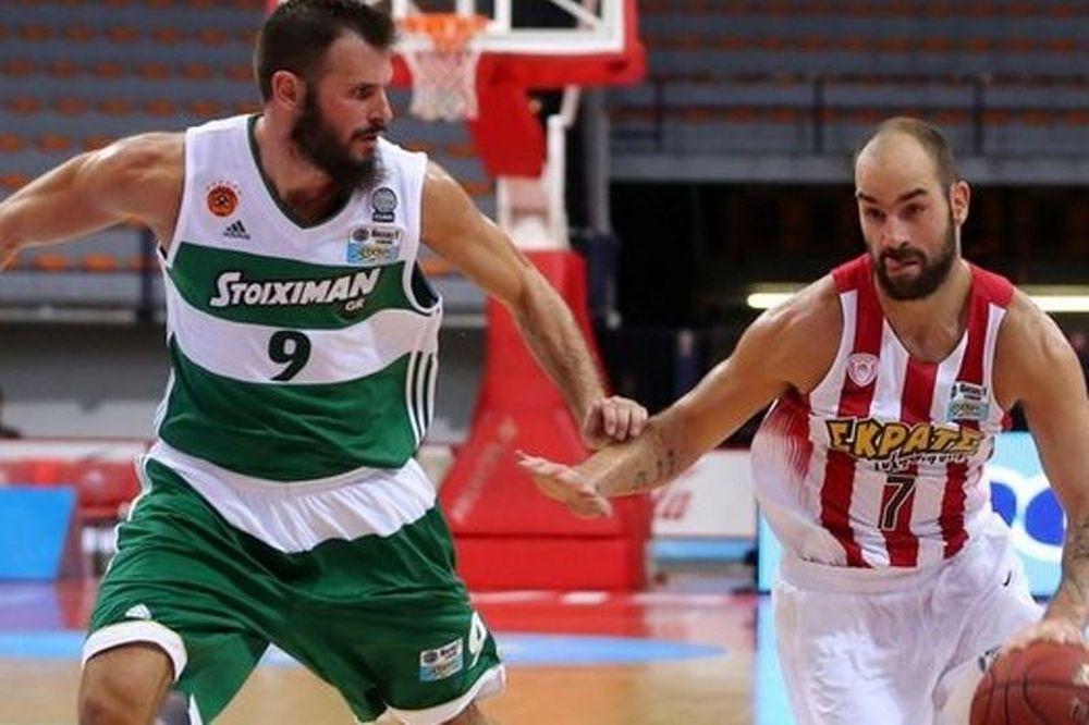 Ολυμπιακός-Παναθηναϊκός Superfoods: το 1ο ντέρμπι της σεζόν στην Basket League μόνο στον ΟΤΕ ΤV
