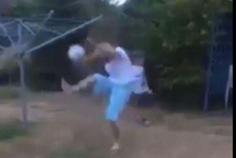 Όταν μια μητέρα έχει τα skills του Ροναλντίνιο (video)