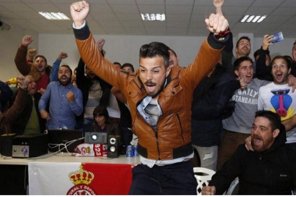 Επικό: Οι ποδοσφαιριστές της Λεονέσα τα σπάνε επειδή κληρώθηκαν με την Ρεάλ (video)