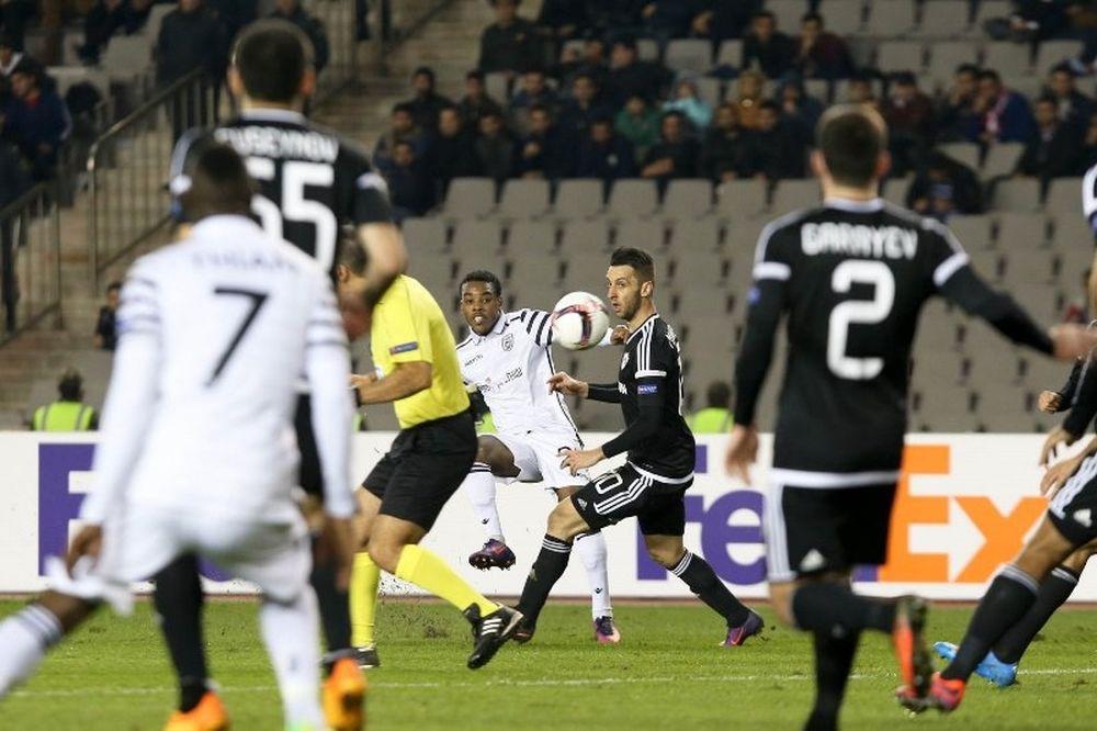 Καραμπάγκ – ΠΑΟΚ 2-0: Πικρή ήττα στο Αζερμπαϊτζάν