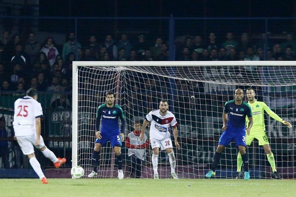 Βέροια - Παναθηναϊκός 1-1: Τα γκολ του αγώνα (video)