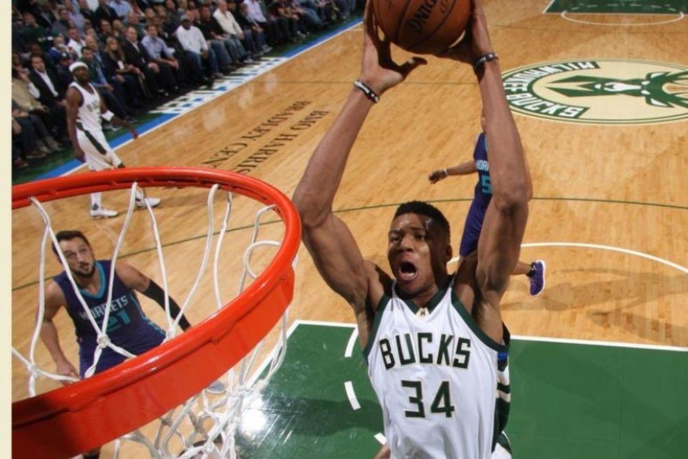NBA: Ξεκίνησε με… όργια ο Αντετοκούνμπο! (videos)