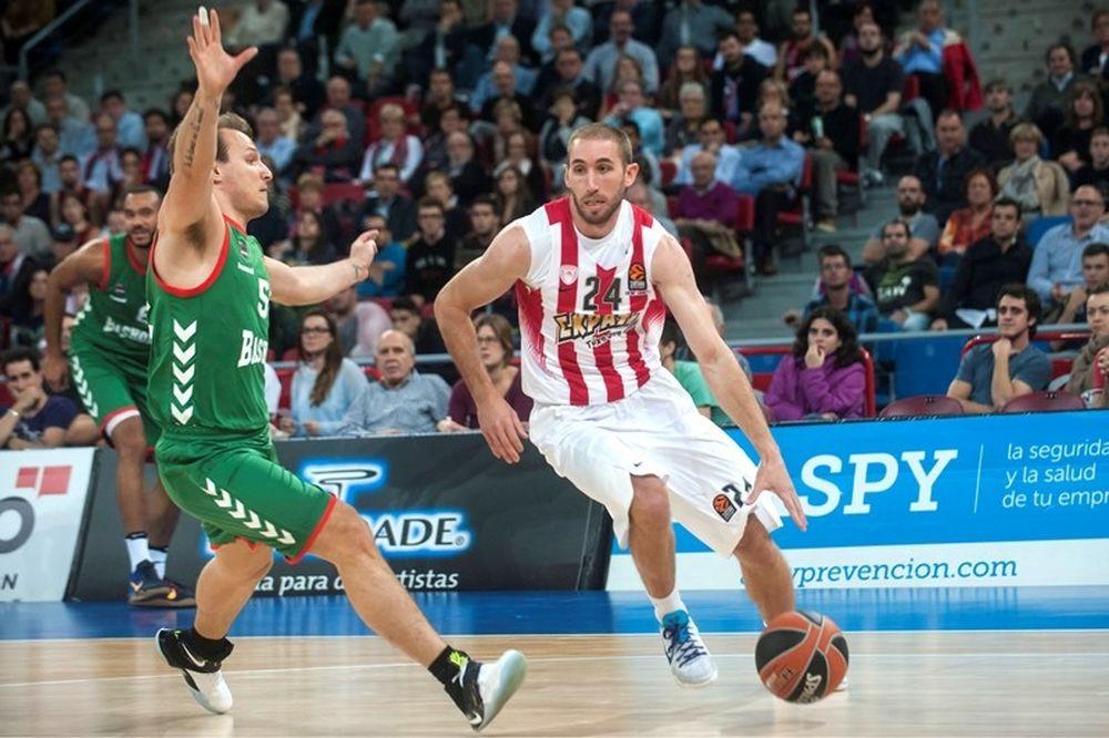 Μπασκόνια - Ολυμπιακός 90-95: «Βομβάρδισε» την Βασκονία…