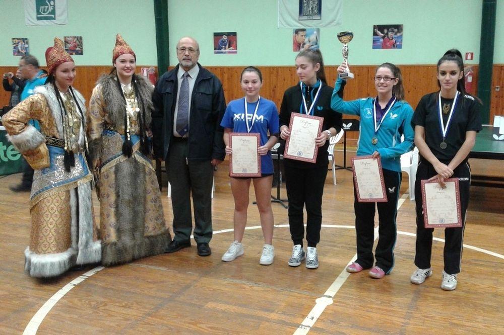 Πινγκ Πονγκ: Το 5ο όπεν της Ελευσίνας η νέα στάση των νεαρών αθλητών